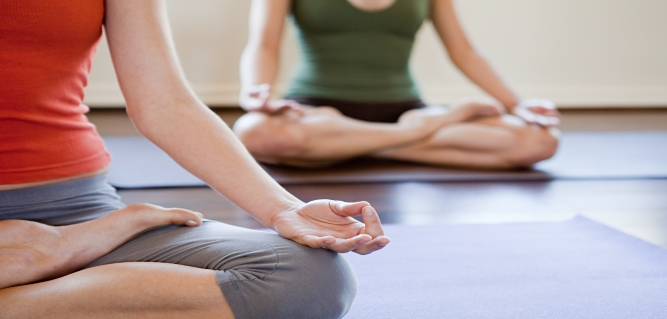 Yoga- Perishable Body Unperishable Spirit and Mind Falling In Line