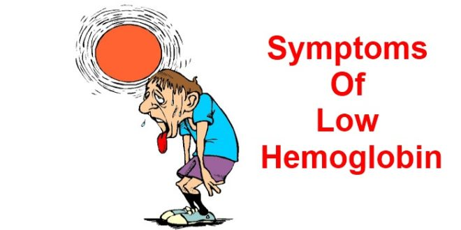 Symptoms Of Low Hemoglobin