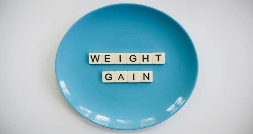 gaining body weight
