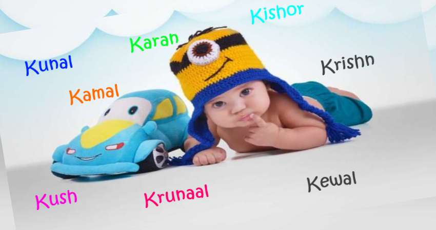 Baby Boy Names Starting With K