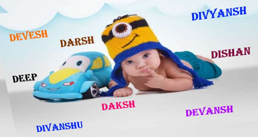 Baby Boy Names Starting with D