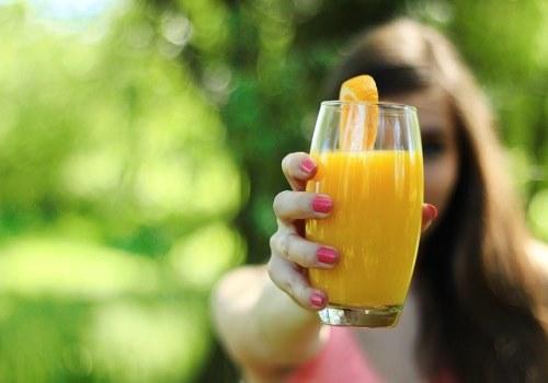 Orange Juice for cough