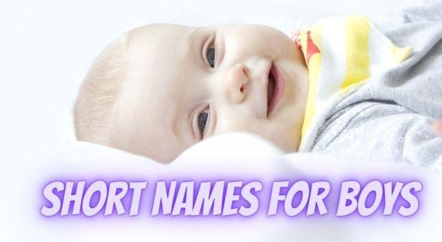 Short Names For Boys